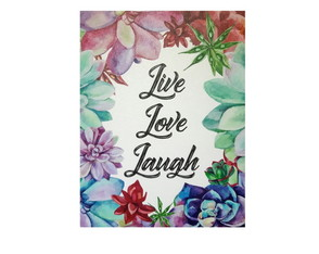 Tela Live Love Laugh