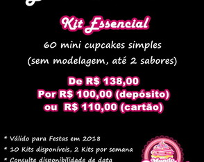 Kit Essencial Black Friday