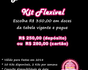 Kit Flexivel Black Friday