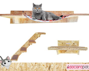 Nicho para gatos - Kit Cat - 01