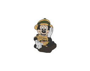 Patch Bordado Termocolante Mickey Safari - modelo2