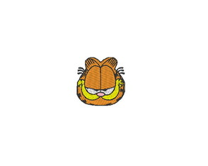 Patch Bordado Termocolante Gato Garfield - modelo3