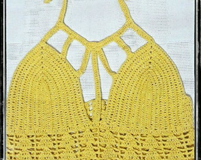 Cropped Amarelo