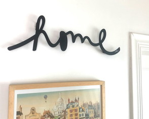 Lettering - HOME