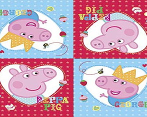 Painel Peppa Pig 2,50 x 1,50m