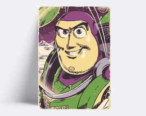Placa decorativa / TOY STORY BUZ LIGHTYEAR 230