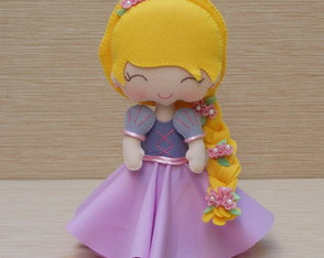 Princesa Rapunzel Cute