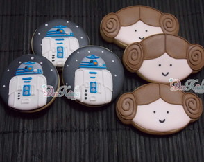 Biscoito Decorado Star Wars