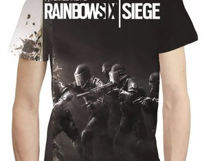 Camisa Rainbow Six Siege Camiseta Estampa Total Game