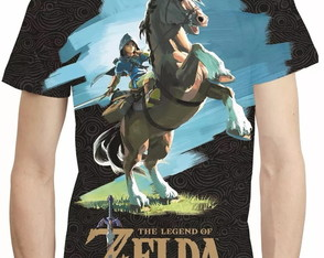 Camisa Legend Of Zelda Link Camiseta Estampa Total Game