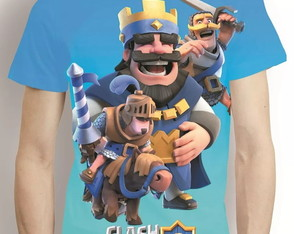 Camisa Clash Royale Camiseta Estampa Total Game Mod 2