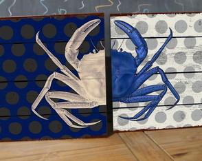 2 Quadros Tela Decorativos Duetos Praia