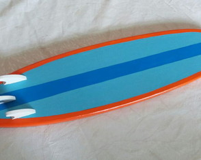Prancha de surf decorativa 60 cm