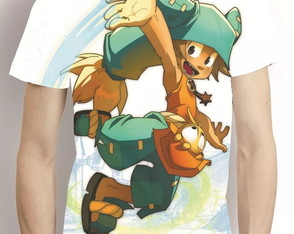 Camisa Wakfu Yugo Estampa Total Camiseta Game