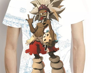 Camisa Wakfu Estampa Total Camiseta Game Anime