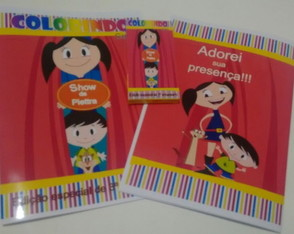 Kit de colorir Show da Luna