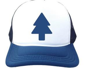c29743ff34 Boné Trucker Dipper Pines Gravity Falls Branco e Azul Marinh
