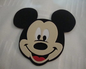 Aplique do Mickey