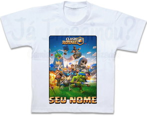 Camiseta Clash Royale Abertura