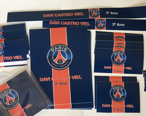 Kit Escolar 01: PSG