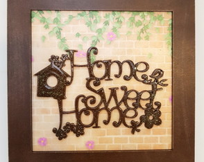 Quadro Decorativo - Home Sweet Home