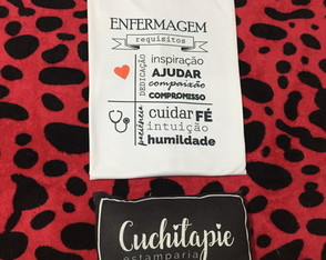 Camiseta - Enfermagem Requisitos