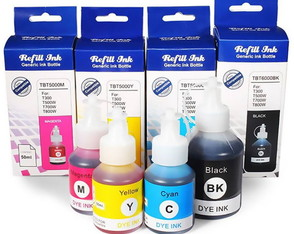 Kit Tinta Compatível para Brother DCP-T300 T500W T700W T800W