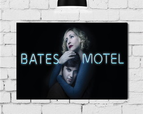 Placas Decorativas Quadro Serie Bates Motel