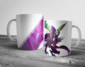 Caneca League of Legends Kha'zix 325ml