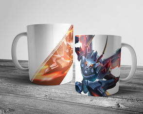 Caneca League of Legends Mecha Kha'zix 325ml