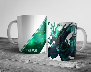 Caneca League of Legends Thresh 325ml