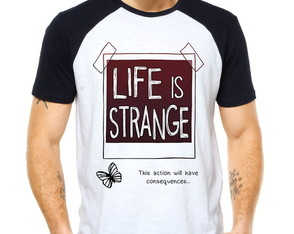 Camiseta Raglan -Life Is Strange