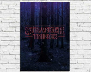 "Placa decorativa ""Stranger Things personalizada"""