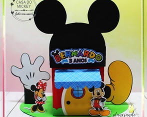 Caixa Casa do Mickey