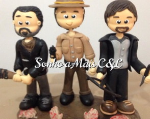 Vela The walking dead Trio