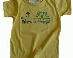 Camiseta Infantil malha PET Futuro AM