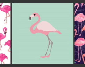Kit de arte digital- Flamingos -