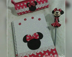 Kit Escolar da Minnie