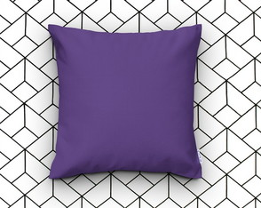 Almofada Decorativa Lisa Ultra Violet