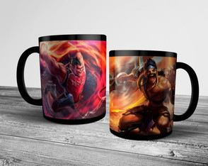 Caneca League of Legends Darius e Draven 325ml