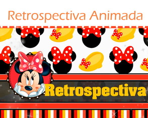 Retrospectiva Animada - Minnie Vermelha