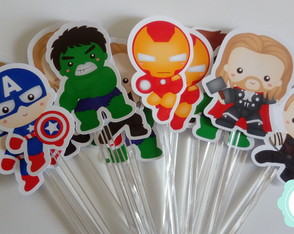 50 Toppers Vingadores