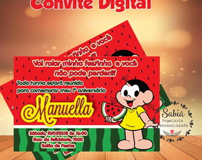 Convite Digital Magali WhatsApp