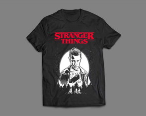 Camiseta Masculina Stranger Things