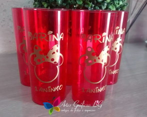 Copo Long Drink Minnie 2
