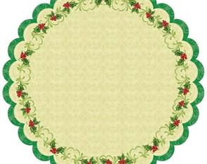 Papel Para Scrapbooking Best Creation MC011 Holly Die Cut