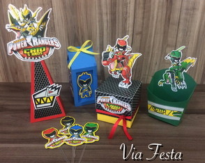 KIT FESTA POWER RANGERS