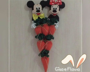 Páscoa Tema Mickey e Minnie