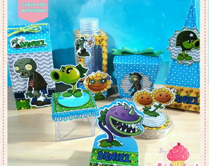 Kit Festa Plants vs. Zombies