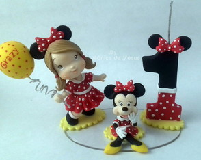 Mini Topinho Minnie Vermelha